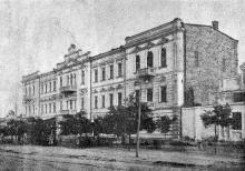 Ул. Дальницкая, театр Д.И. Брунштейна, фотограф Б. Готлиб, 1900-е годы