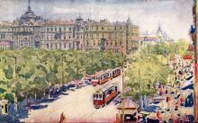 Ул. Льва Троцкого (Преображенская), внутренний двор, художник Э. Мальц, 1922 г.