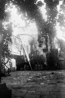 Ул. Греческая, 40, внутренний двор, 1910-е годы