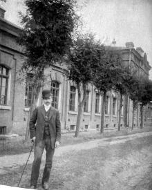 Ул Дальницкая (сейчас №62), казенный очистной склад, 1910 г.