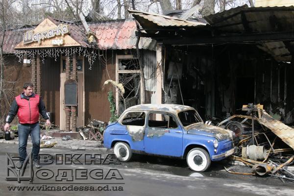 Fire In Odessa Sharmanka Rare Cars Destroyed News Vikna Odessa