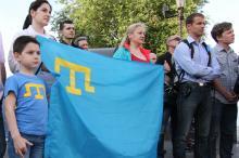 В Одессе почтили память крымских татар