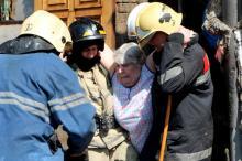 В Одессе на пожаре спасли трех человек