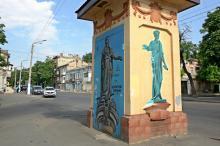 Одесские трансформаторные будки как произведения стрит-арта