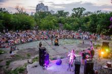 В Одессе вновь открылся «Зеленый театр»