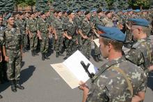 В Одесской военной академии приняли присягу офицеры запаса