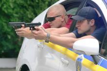 Новые полицейские готовятся к выходу на улицы Одессы
