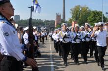В Одессе приняли присягу будущие офицеры украинского флота