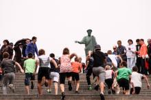 Вверх по Потемкинской: в Одессе состоялся легкоатлетический забег