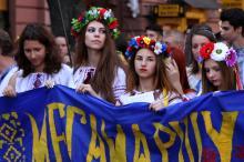В Одессе прошел очередной мегамарш в вышиванках