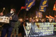 В Одессе состоялось факельное шествие