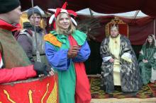 В центре Одессы – костюмированное рождественское действо