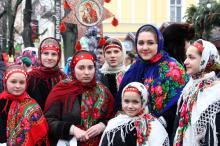 На главной улице Одессы колядовали и щедровали