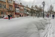 Снегопад в Одессе: стихия и зимняя сказка