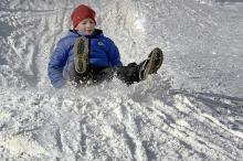 Зимние выходные в Дюковском парке