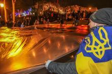 Свечи памяти: в Одессе помянули Героев Небесной Сотни