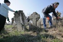 Толока на старейшем кладбище Одессы