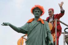 В Одессе прошел «Рыжий фестиваль» для рыжего города
