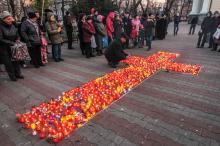 В Одессе зажгли свечу памяти