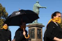 В Одессе сказали «Рабству нет!» – молча