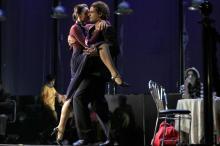 Одесский украинский театр показал «Полет в ритме танго»