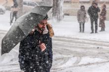 Зима пришла: Одесса встретила первый большой снег