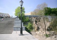 На Приморском бульваре сносят исторические развалины