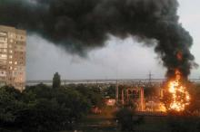 Пожар: три четверти одесского поселка Котовского обесточены