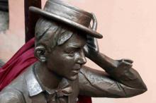 В Одессе открыт памятник молодому Утесову