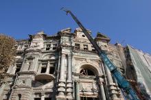 В Одессе продолжается реставрация дома Русова