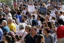«Верните нам Ройтбурда!»: акция протеста в Одессе