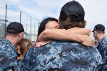 В Одессу вернулись освобожденные из российского плена моряки