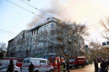 Масштабный пожар в центре Одессы: в городе объявлен траур