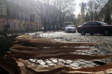 Ветер как стихия: на Одессу обрушился февральский шторм