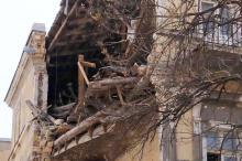 В центре Одессы обрушилась часть старинного дома