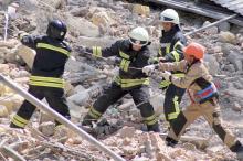 Обрушение в центре Одессы: расчистка завалов завершена