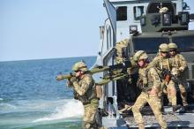 В Одесской области военные тренировались отражать нападение